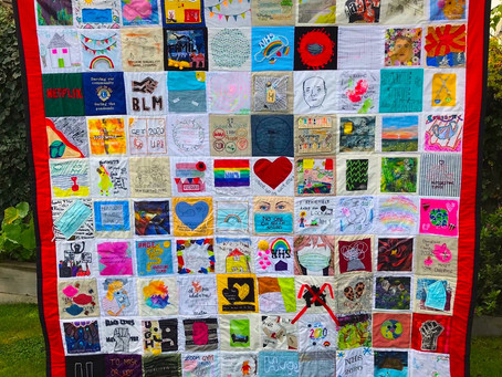 People of Southend-on-Sea create stunning patchwork quilt