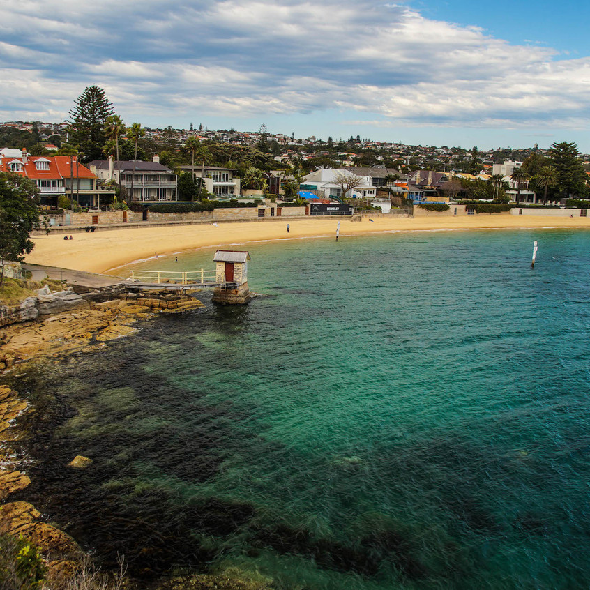 Relax at Watsons Bay's very own beach