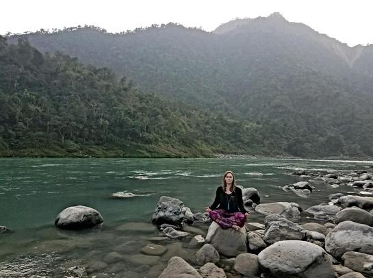 Melissa in India