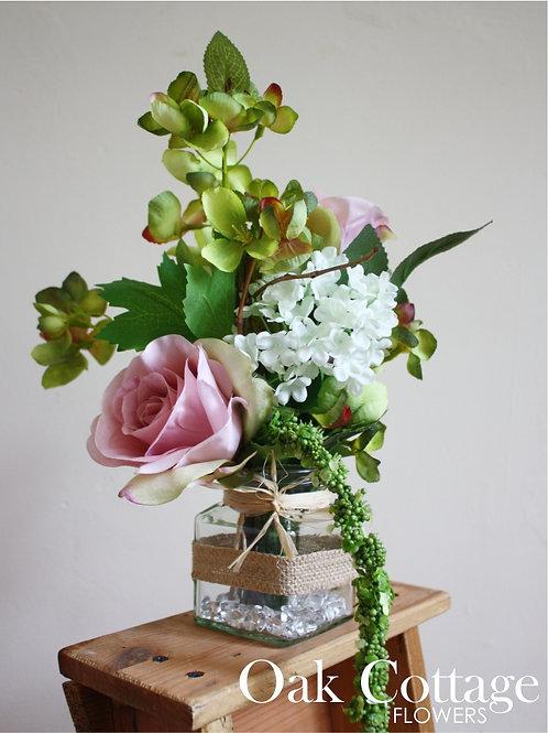 Orchard Blossom & Serenity Rose Jam Jar