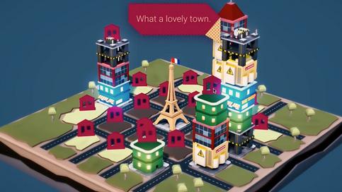 3D build city game