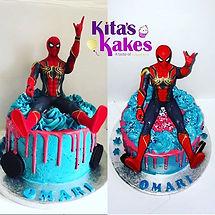 Spider-tastic Oreo cake for a lovely lit