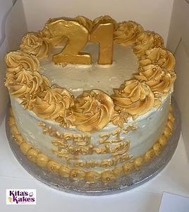 A golden 21st Birthday 👑#golden21st#lov