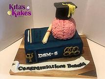 Psychology Graduation cake , one of my f