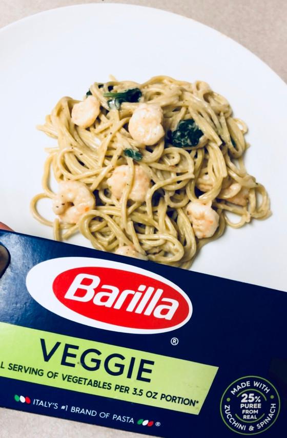 Shrimp Veggie Spaghetti
