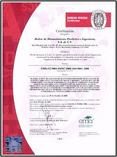 Certification - Bureau Veritas - 1.jpg
