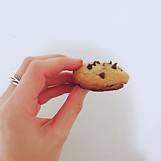 Customizable Bite-Size Chocolate Chip Cookies