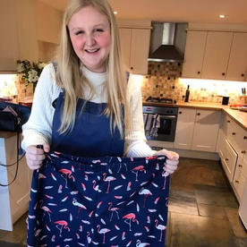Holly's first project - Pyjama bottoms too