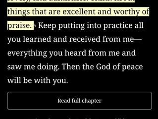 Rejoice!... and again I say rejoice!