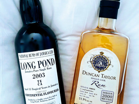 Velier Long Pond 2003 TECA & Duncan Taylor Long Pond 2000 Review & Jamaica GI At Risk