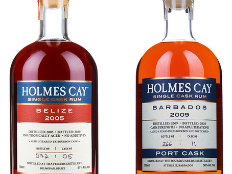 Holmes Cay Treasures - Belize 2005 & Barbados 2009 Rum Review