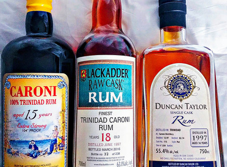 Caroni Rum Review - Velier vs Blackadder vs Duncan Taylor