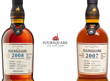 Foursquare 2008 vs 2007 - Rum Review