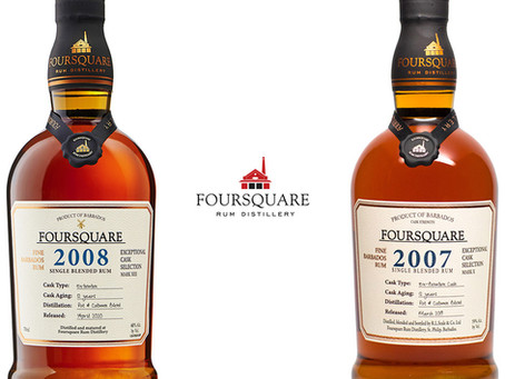 Foursquare 2008 vs 2007 - Rum Review
