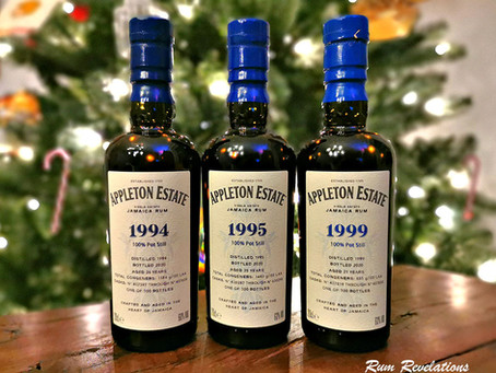 Appleton Hearts Collection Rum Review - 1994 - 1995 - 1999