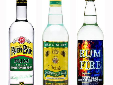 Jamaican Overproof Rum Challenge - Wray & Nephew - Rum Fire - Rum Bar - Review