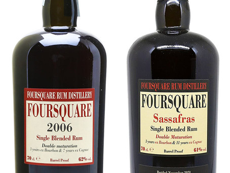 Foursquare Sassafras vs Foursquare 2006 Rum Review