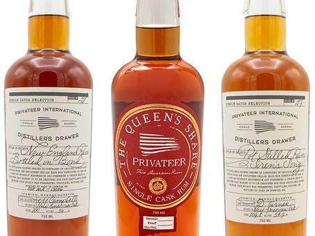 Privateer Rum Review - Distiller's Drawer #10 & #27 & #28 - Queen's Share P239