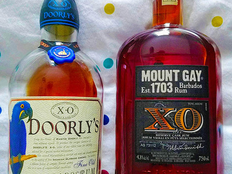 A Barbados Love Story That Ends In A Battle - Mount Gay XO vs Doorly's XO Review