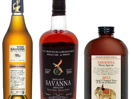 Savanna Lontan 2007 & The Wild Parrot Savanna & Velier Savanna Indian Ocean Stills - Rum Review