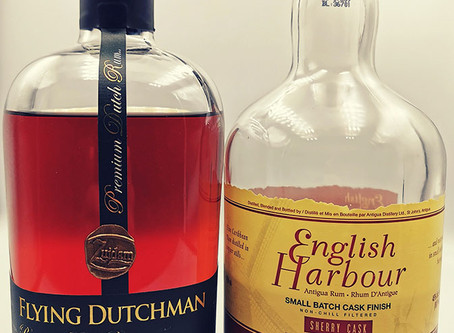 Flying Dutchman Rum OL 6 vs English Harbour Sherry Cask - Rum Review