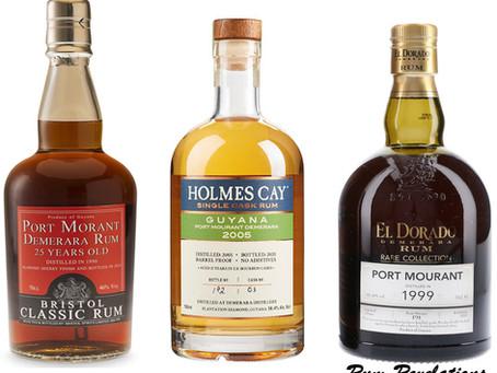 Battle Of The Port Mourants - El Dorado vs Holmes Cay vs Bristol - Rum Review