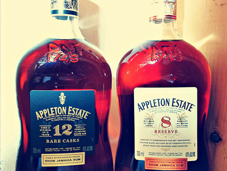 Appleton 8 Reserve vs Appleton 12 Rare Cask - Rum Review