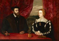 Carlos V y la emperatriz Isabel
