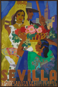 Cartel Fiestas de Primavera 1930
