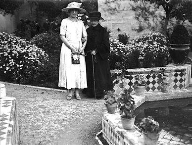 The Queen Victoria Eugenia & the Empress Eugenia de Montijo