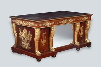 Mesa escritorio estilo Imperio siglo XIX