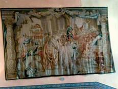 'La ofrenda de Abraham y Melquisedec en el Templo de Jerusalén' de Franz Van den Hecke