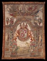 Tapiz repostero casa de Veragua siglo XV