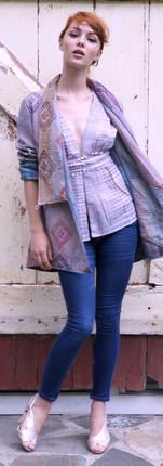 gujarat kimono short - s