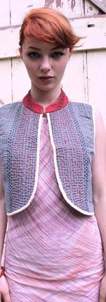 crop vest reversible - s