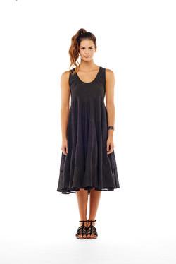 tier dress sleeveless