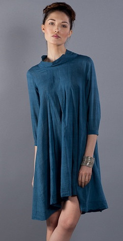 pleat tunic