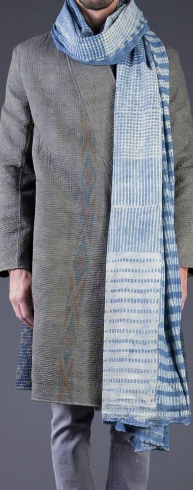 gujarat kimono + ahimsa stole