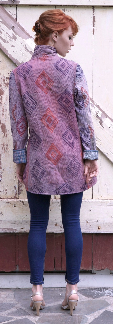 gujarat kimono short - back s