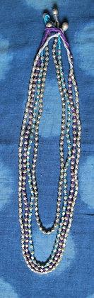 tribal metal MALA necklace