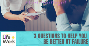 3 questions to help you be better at failure