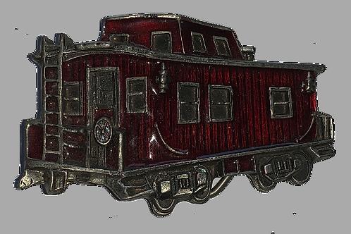 Train Carrage Belt Buckle GTJ271