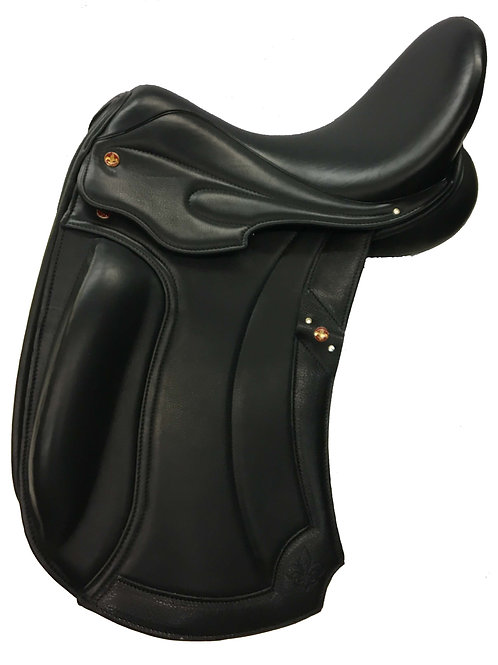 Balmoral Dressage Monoi Flap Calf Covered