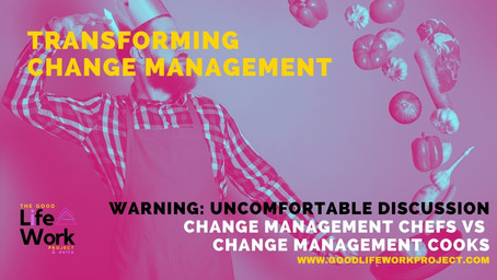 Change Management Chefs Vs Change Management Cooks