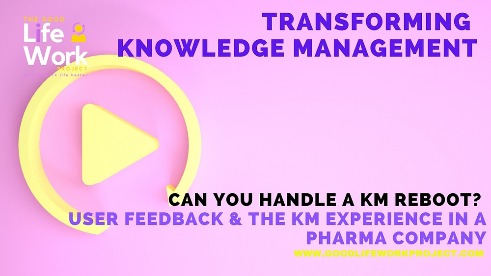 Knowledge management user experience