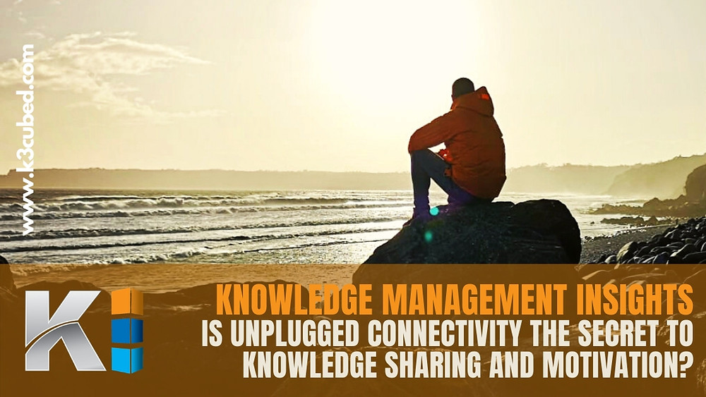 Knowledge sharing and motivation blog
