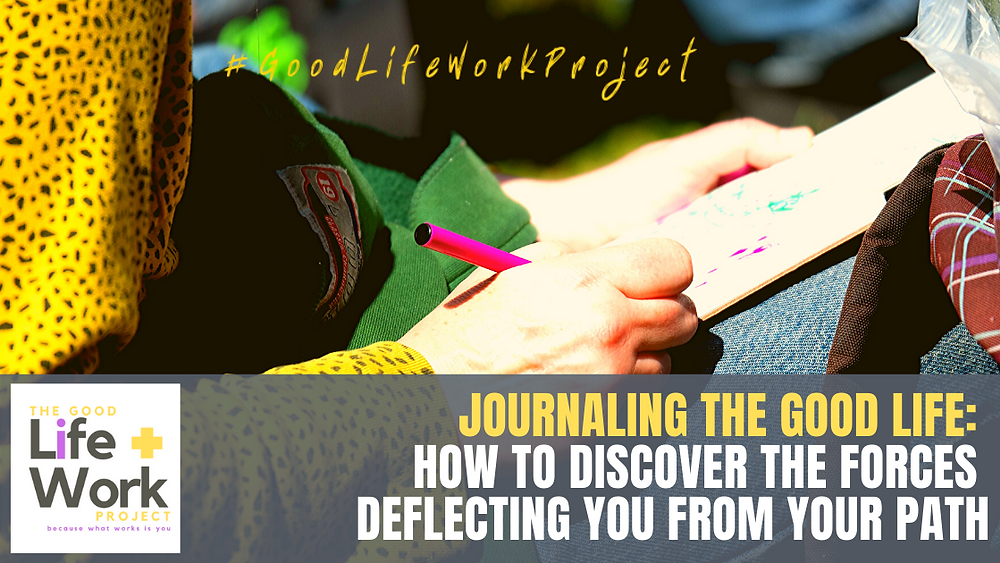 Journaling to discover forces and insights
