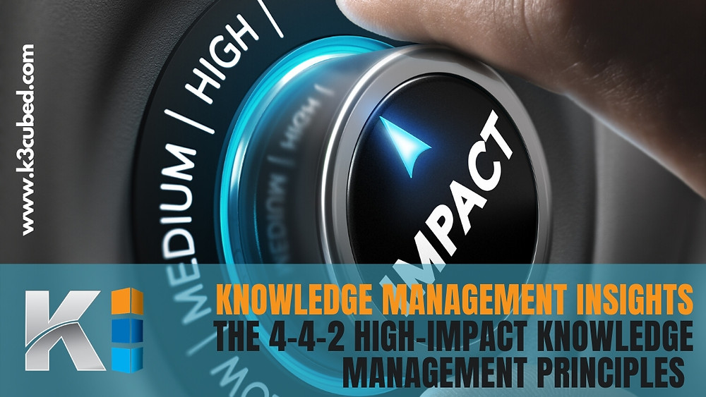 High-Impact Knowledge Management principles