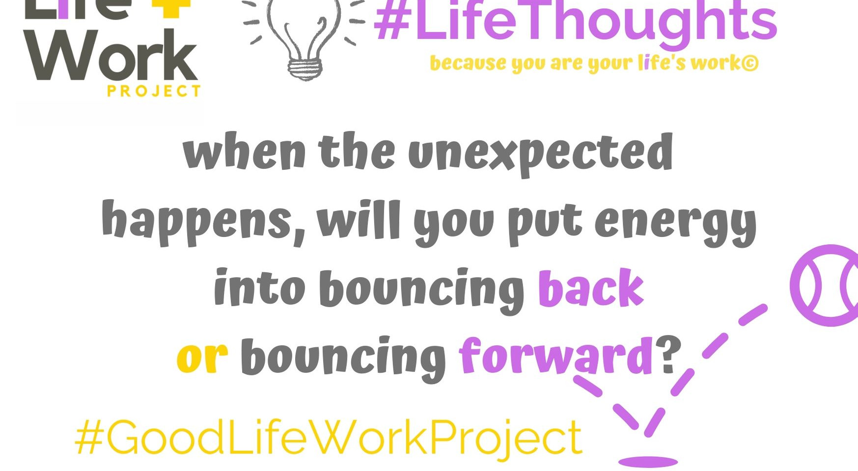 Do you bounce back?