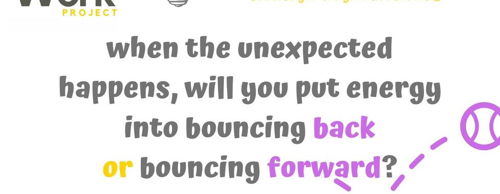 Do you bounce back?